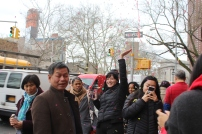 New Yorkers celebrated Chinese New Year.