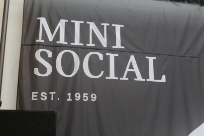 The Mini Social event took place in downtown Manhattan.