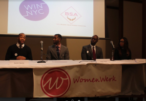 Several panelists were invited to speak at the first event.
