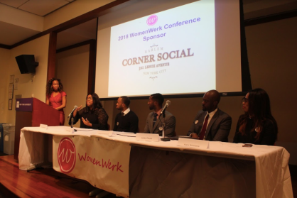Panelists spoke at the Women Werk Conference.
