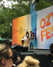 Jemele Hill was Ozy Fest's special guest on the main stage.